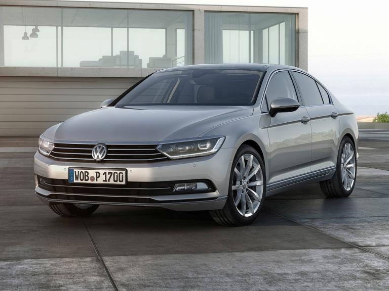 Frontal Volkswagen Passat