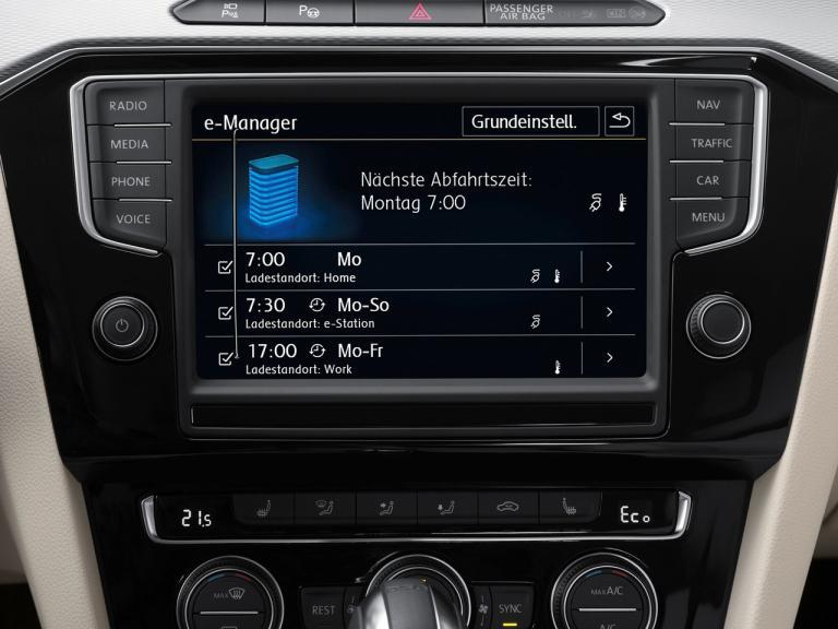 Detalle Volkswagen Passat GTE