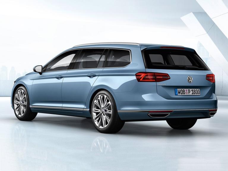 Trasera Volkswagen Passat Variant