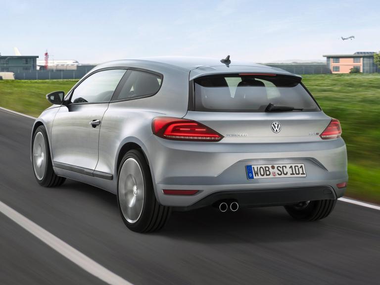 Trasera Volkswagen Scirocco