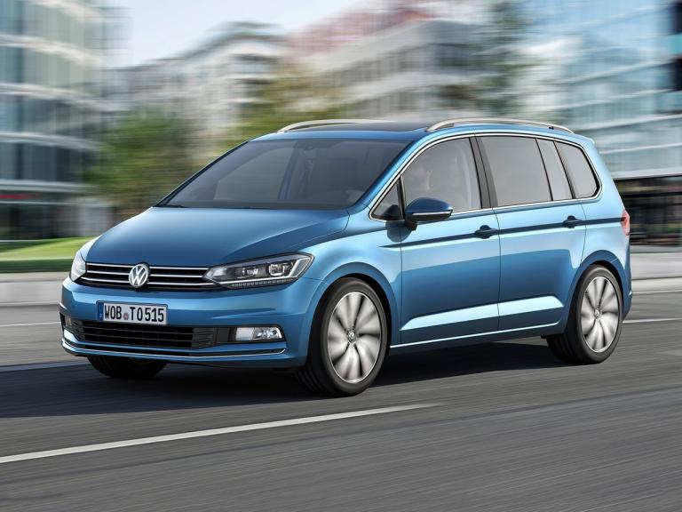 Frontal Volkswagen Touran