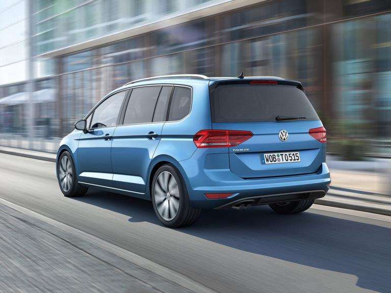 Trasera Volkswagen Touran