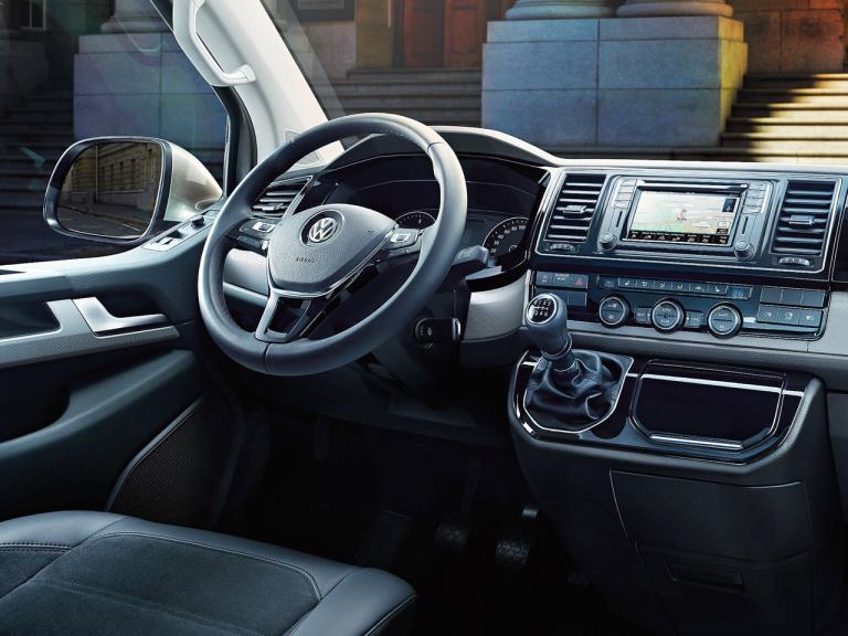 vista interior volkswagen caravelle