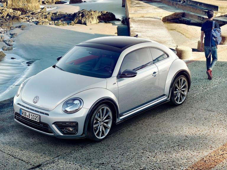 Frontal Volkswagen Beetle