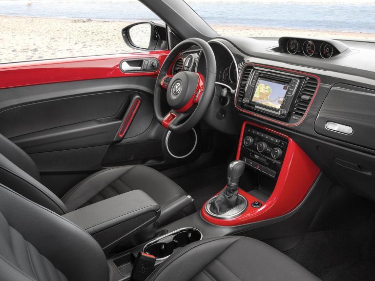 Interior Volkswagen Beetle