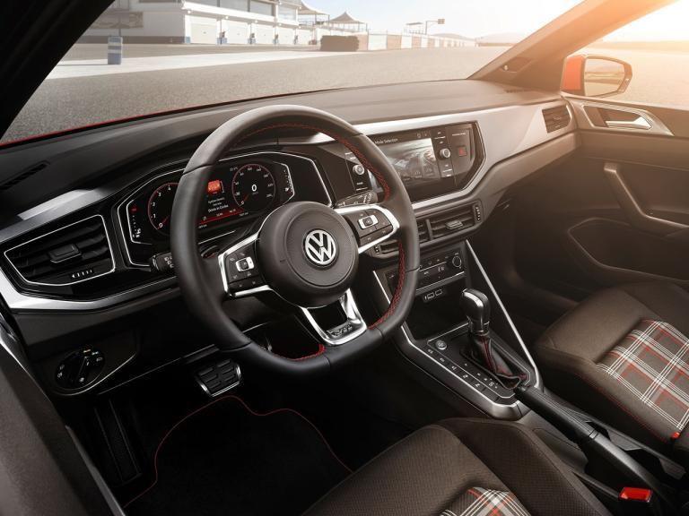 Interior Volkswagen Polo GTI