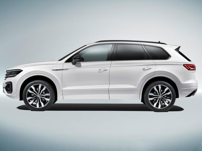 Lateral Volkswagen Touareg
