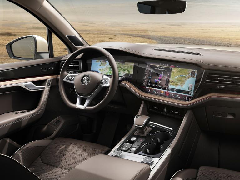 Interior Volkswagen Touareg