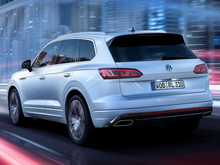 Trasera Volkswagen Touareg