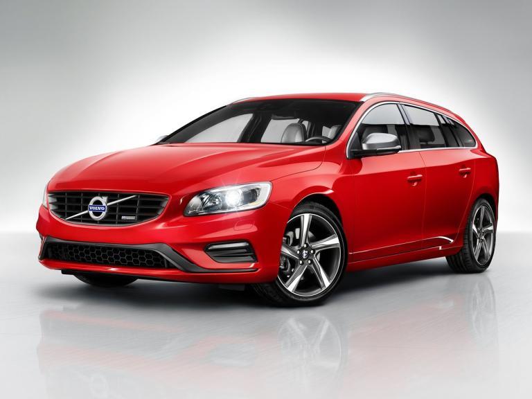 Frontal Volvo V60