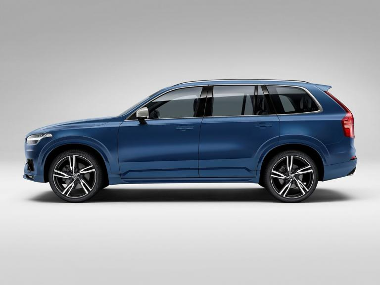 Lateral Volvo XC90