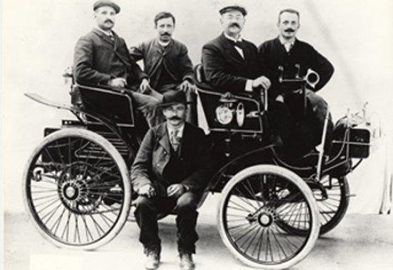 1815 - 1900 De la sierra al automóvil